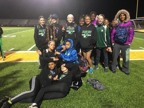 Girls Track Place Second at Centerville Relays
