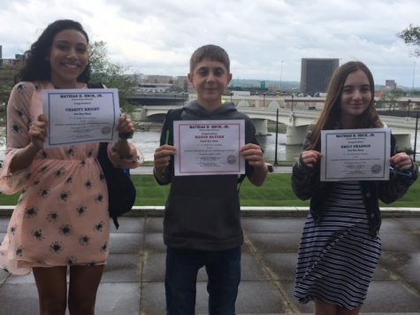 NMS Writing Contest Winners!