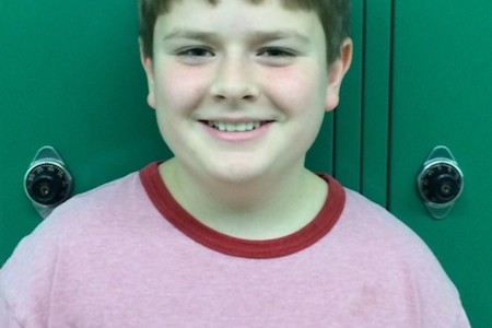 Zach Murphy Named Student of the Month