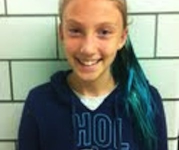 October Student of the Month for Team Integrity is Isabelle Caraway