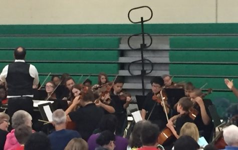 Orchestra Has Halloween Party
