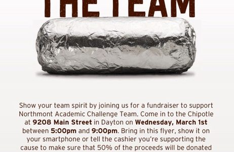 Go to Chipotle on Wednesday