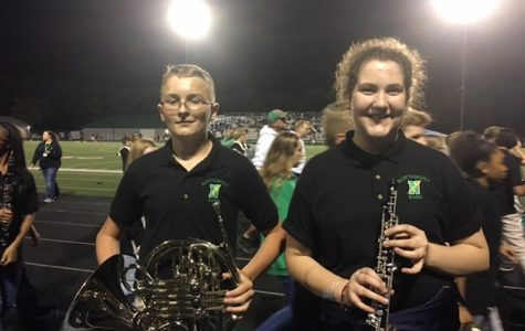 Symphonic Band Gets a Taste of Marching Band Life