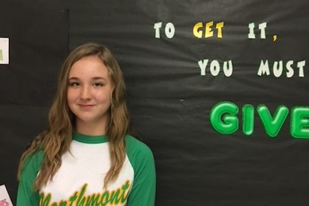 Ashburn Named Student of the Month