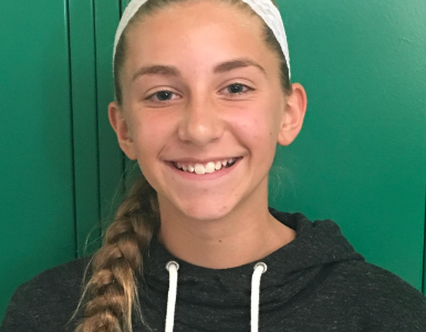Brown Named Team Optimism Student of the Month