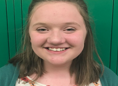Kennedy Swett Named Student of the Month
