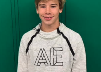Moyer Named Student of the Month