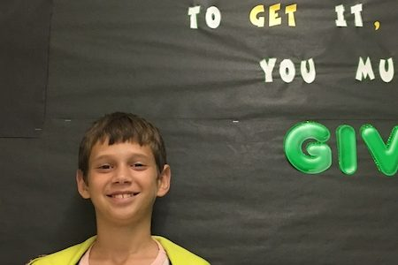 Smith Named Student of the Month