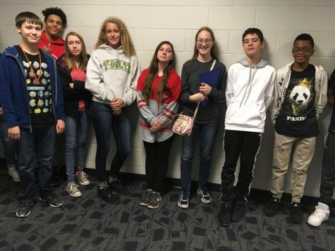Eighth Graders Visit the CTC
