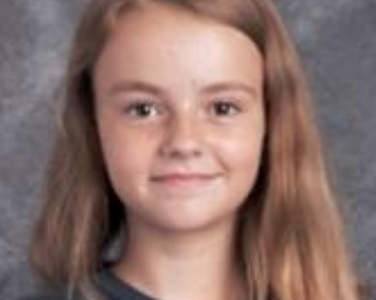 Blessing Named Student of the Month