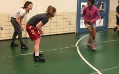 Female Wrestlers Persevere