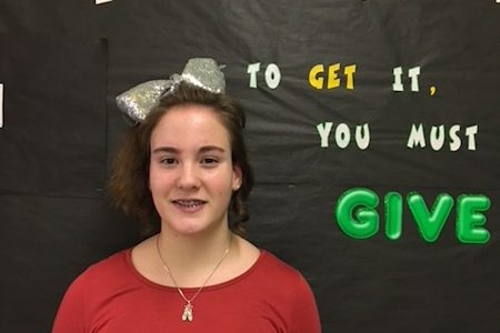 Dineen Named Student of the Month
