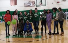 8th Grade Girls Basketball Team Winter Pep Assembly