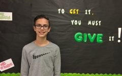 Goffinet Named Team Respect Student of the Month