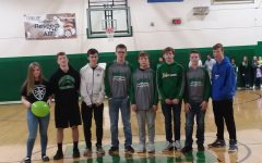 8th Grade Wrestling Team Winter Pep Assembly