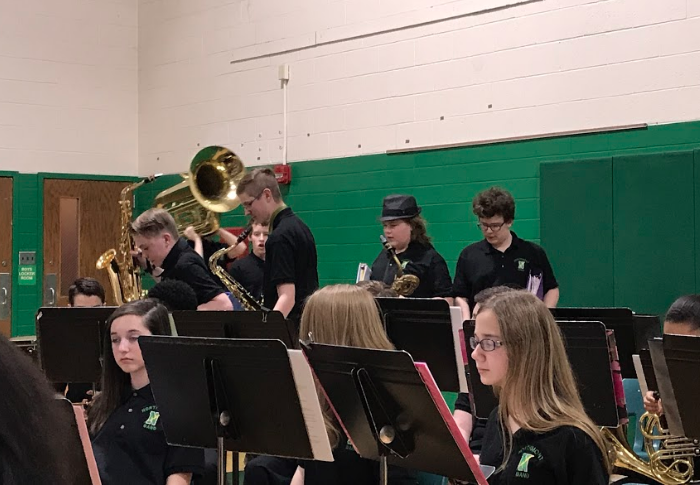 NMS Band Performs