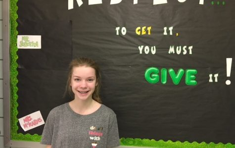Schmitz Named Student of the Month