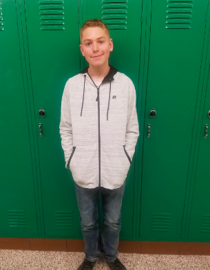 Russell Named Student of the Month