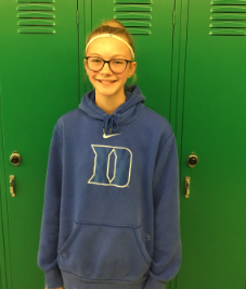 Auxier Named Student of the Month
