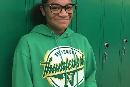 Williams Named Student of the Month
