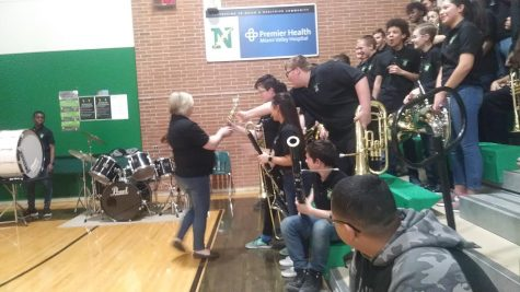 Eighth Grade Band Night