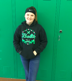 Emily Scott Named Student of the Month