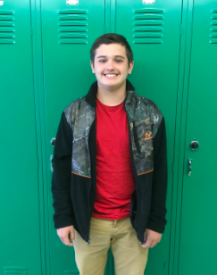 Moore Named Student of the month