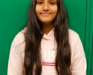 Cheema Named Student of the Month