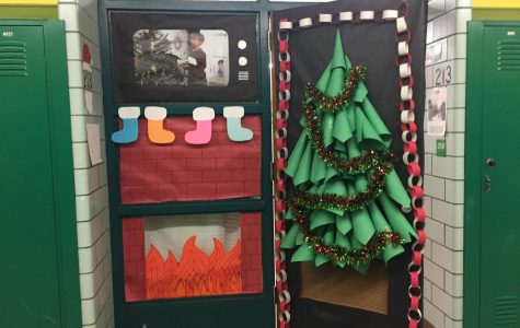 Holiday Door Competition