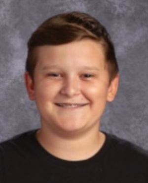 Morgan Named Student of the Month