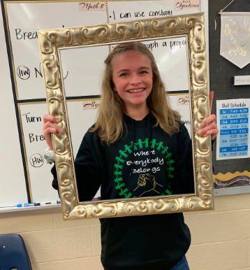 Shellabarger Named Student of the Month