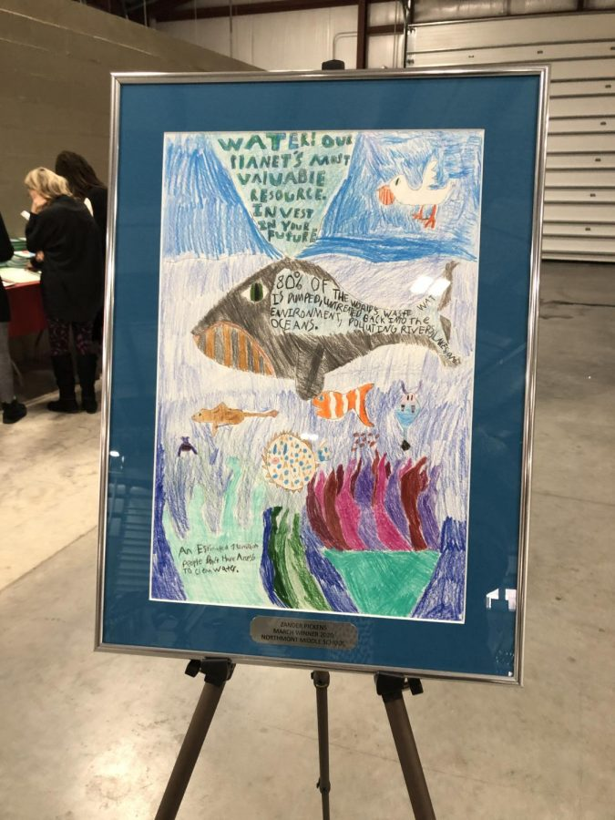 NMS Art Work Wins Poster Contest