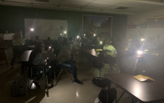 Black Out at Northmont Middle School